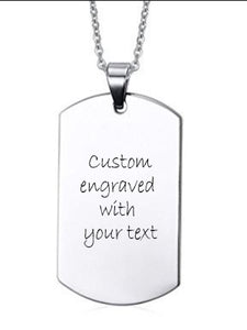 ENGRAVING  | Pendant | Stainless Steel