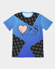 Load image into Gallery viewer, UMI LUV MENS BLUE TEE