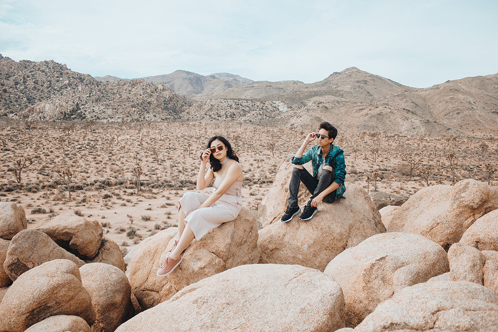 ÁINE Featured in Sartorialust.net | Palm Springs Diary