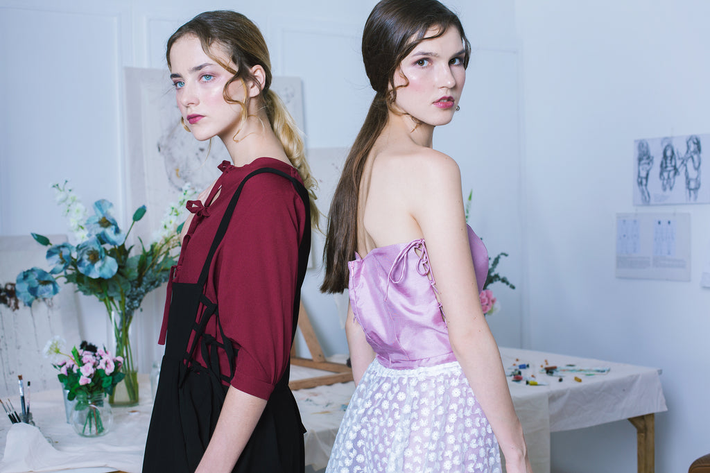 ÁINE launched Her Studio F/W17  collection, along with its first designer collaboration