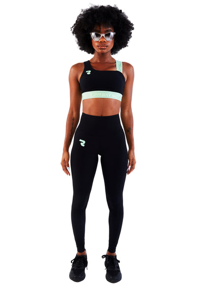 Runaway Motel Future Sports Bra After Dinner Mint