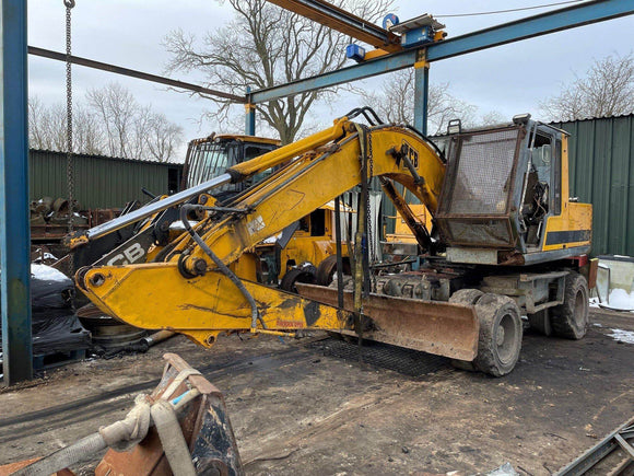 JCB JS130W SERIAL NUMBER 716068 YEAR 1995