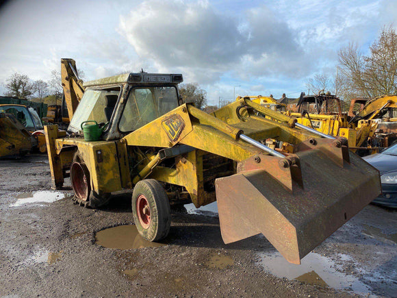 JCB 3C MK2 SERIAL NUMBER 110828 YEAR 1975