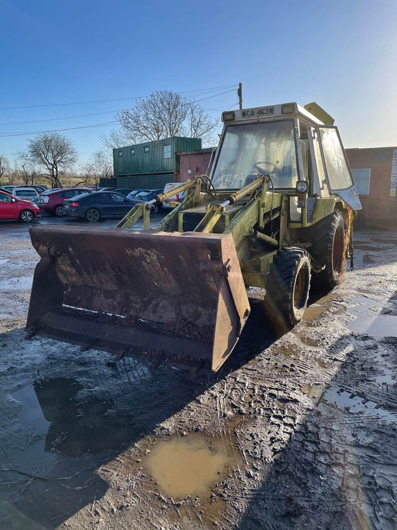 JCB 3CX 2WD SERIAL NUMBER 290253 YEAR 1980 - Vicary Plant Spares