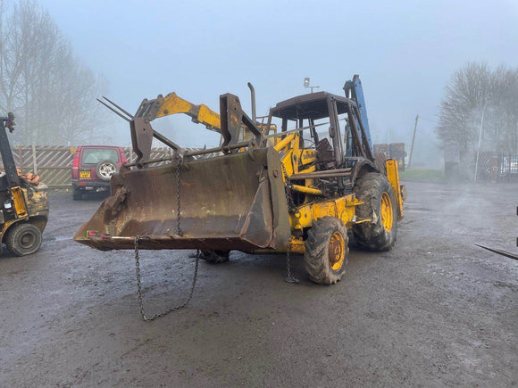 JCB 3CX 4X4 SITEMASTER SERIAL NUMBER 417967 YEAR 1994