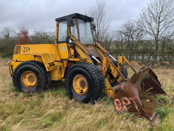 JCB 430 SERIAL NUMBER 521296 YEAR 1986