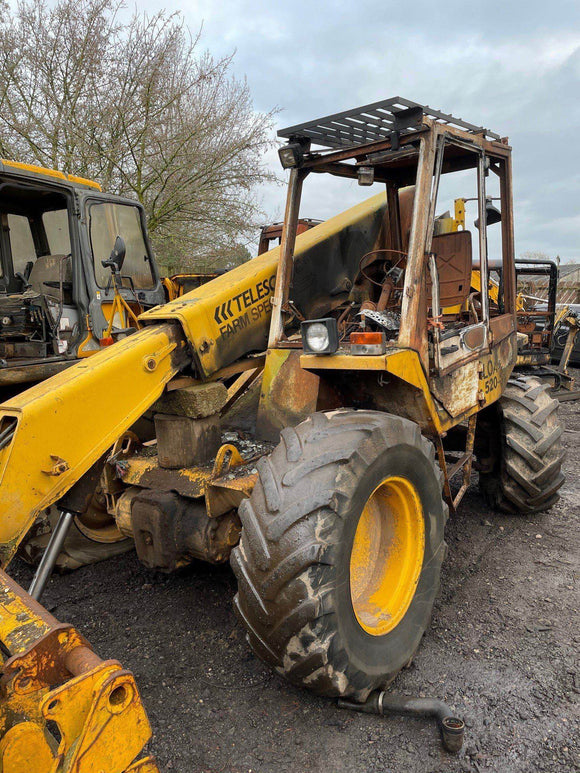 JCB 520-4 SERIAL NUMBER 502359 YEAR 1986