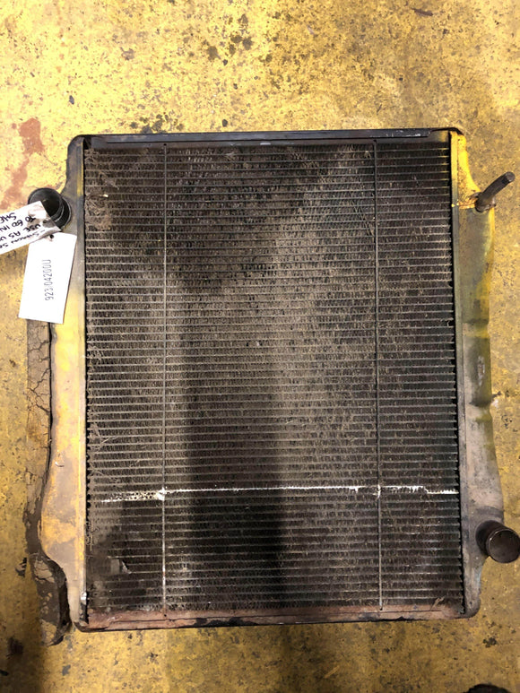 SECOND HAND RADIATOR JCB Part No. 923/04200 - Vicary Plant Spares