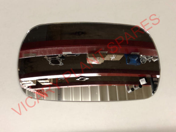 MIRROR GLASS JCB Part No. 477/01068