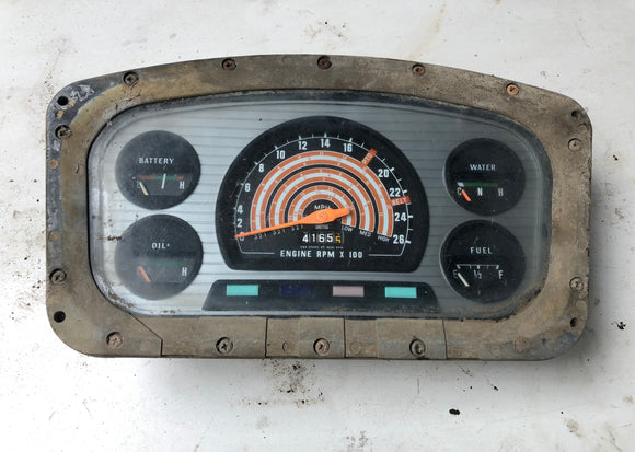 SECOND HAND INSTRUMENT DISPALY JCB Part No. 02/310099