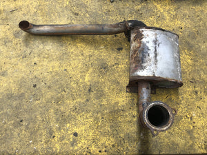 SECOND HAND EXHAUST JCB Part No. 332/F6767 - Vicary Plant Spares