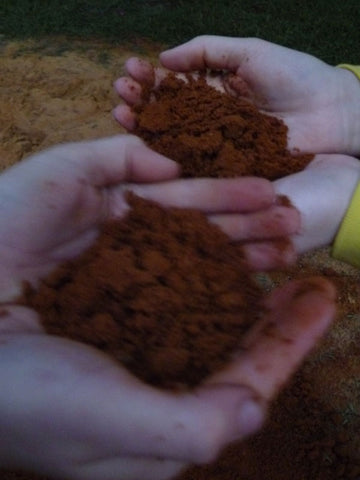 The red, red dirt of South Africa