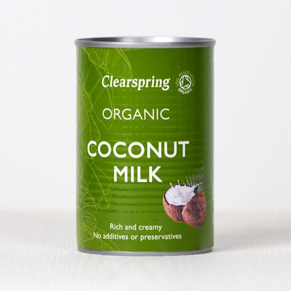 Organic Coconut Milk – Clearspring - 400 ml