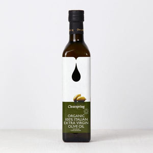 Organic Italian Extra Virgin Olive Oil – Clearspring – 500 ml