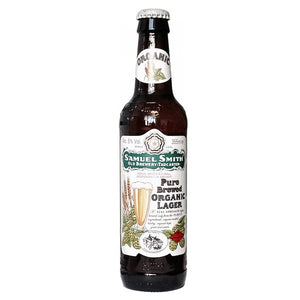 Pure Brewed Organic Lager Samuel Smith - 5 % ABV - 35.5cl