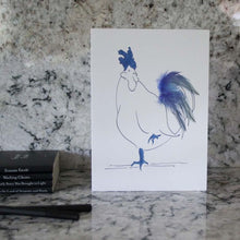 Load image into Gallery viewer, Chickens Set of 6 cards in a tin