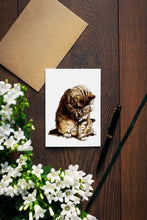 Load image into Gallery viewer, Small Fry The Cat Cards - On White