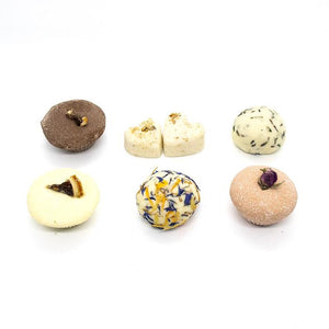 100% Natural Bath Truffles - Pack of 6