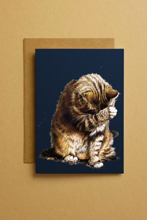 Small Fry The Cat Art Cards