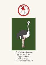 Load image into Gallery viewer, Ostrich Apron