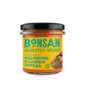 Red Pepper and Cashew Spread Organic – Bonsan – 130g