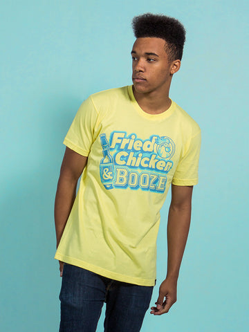 Fried Chicken & Booze Tee