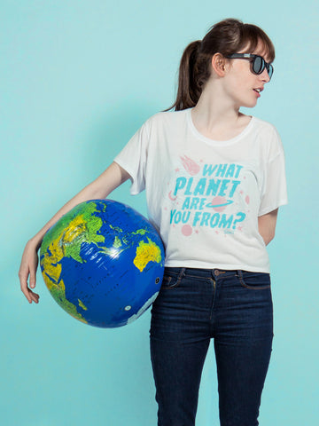 What Planet Women's Boxy Tee