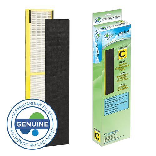 GermGuardian FLT5000 HEPA GENUINE Replacement Filter C for AC5000 Series Air Purifiers