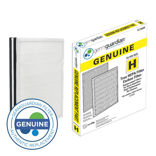GermGuardian FLT9200 HEPA GENUINE Replacement Filter H HEPA and Carbon Combo Pack Subscription