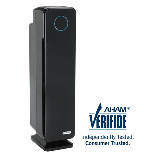 GermGuardian AC5300B Elite 4-in-1 Air Purifier with HEPA Filter, UVC Sanitizer and Odor Reduction, 28-Inch Tower