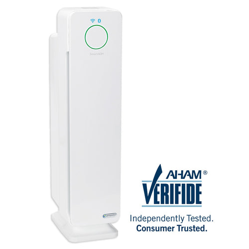 GermGuardian CDAP5500 WiFi Smart 4-in-1 Air Purifier with HEPA Filter, UVC Sanitizer and Odor Reduction, 28-Inch Tower