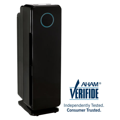 GermGuardian AC4300 Elite 5-in-1 Air Purifier with Pet Pure HEPA Filter, UVC Sanitizer and Odor Reduction, 22-Inch Tower