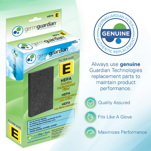 GermGuardian FLT4100 HEPA GENUINE Replacement Filter E Subscription