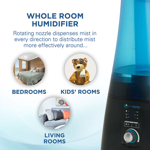 H5450BCA Ultrasonic Warm and Cool Mist Humidifier with UV-C and Aromatherapy Tray, 2-Gallons