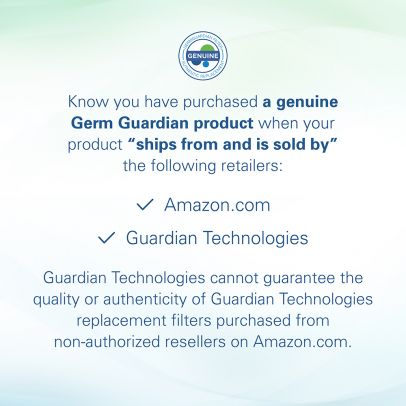 GermGuardian FLT5900 HEPA GENUINE Replacement Filter for Air Purifiers