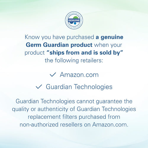 GermGuardian FLT4200 HEPA GENUINE Replacement Filter L Subscription
