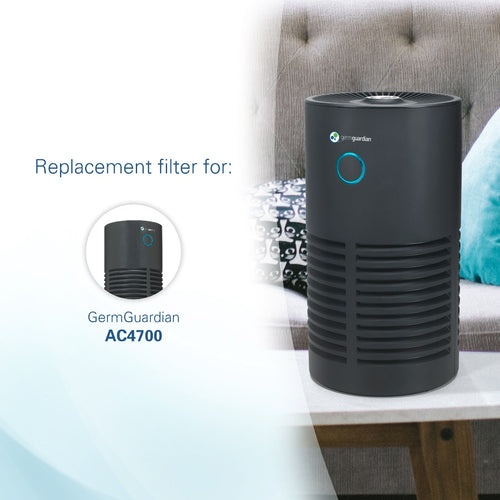 GermGuardian FLT4700 True HEPA GENUINE Air Purifier Replacement Filter M Subscription