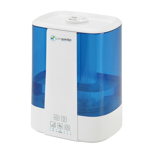 H5225 Top Fill Ultrasonic Cool and Warm Mist Humidifier with Aromatherapy Tray, 2-Gallon