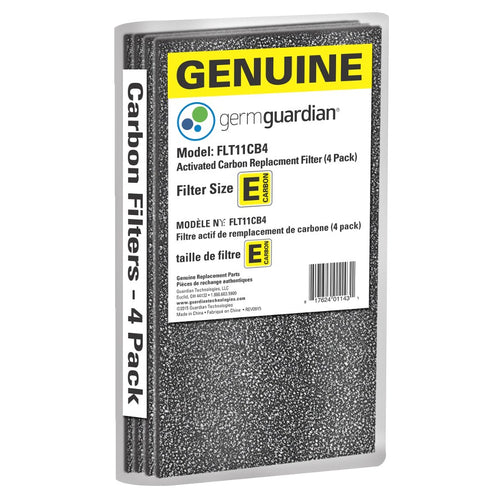 GermGuardian FLT11CB4 GENUINE Carbon Filter Replacements 4 Pack