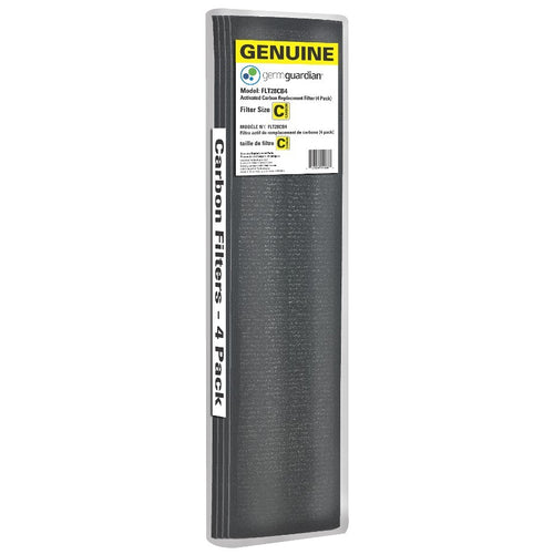 GermGuardian FLT28CB4 Genuine Carbon Filter Replacements for 28-inch Air Purifiers, 4-Pack