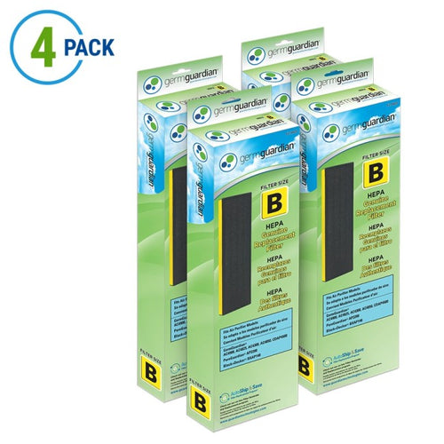GermGuardian FLT4825 Filter-B HEPA GENUINE Replacement Filter B for Series Air Purifiers