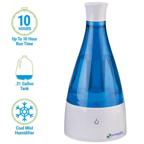 H920BL Ultrasonic Cool Mist Humidifier by PureGuardian