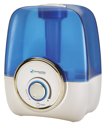 PureGuardian H1210AR 1.5-Gallon Cool Mist Humidifier with Aromatherapy Tray 500 sq. ft.