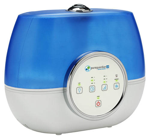 H4810AR 2-Gallon Ultrasonic Warm Mist & Cool Mist Humidifier with Aromatherapy Tray by PureGuardian