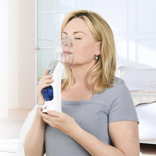 PureGuardian MST55 Personal Warm Mist Steam Inhaler with Aromatherapy Tray
