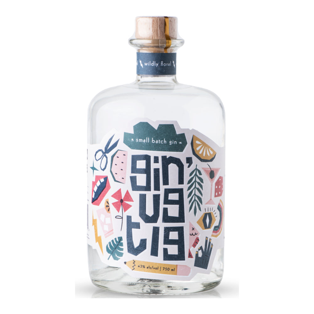 Gin'ugtig Wildly Floral 750ml