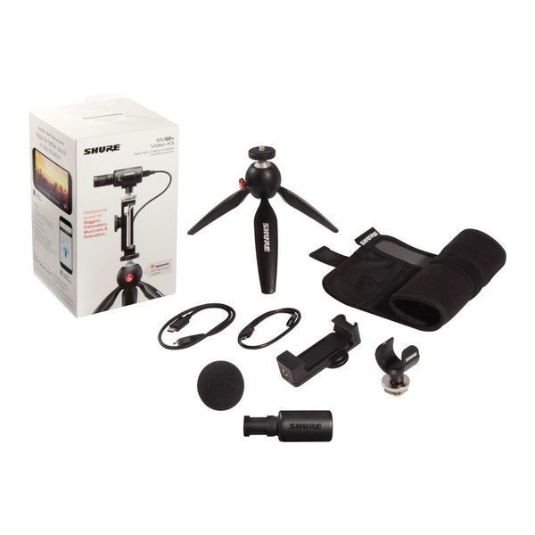 Shure Motiv MV88 Plus Video Kit with SE215 Earphones
