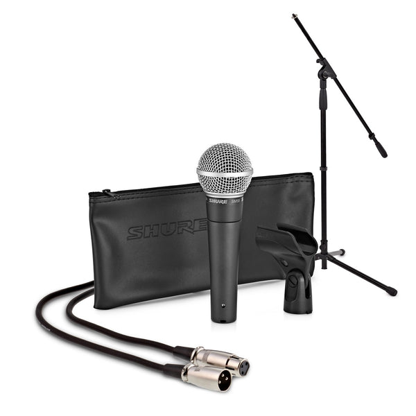 Shure SM58 Dynamic Vocal Mic with Stand and Cable