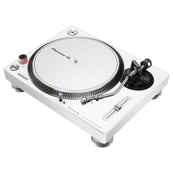 Pioneer PLX-500-W Direct Drive USB Turntable (White)