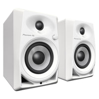 Pioneer DM-40 Active Monitor Speakers White